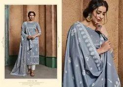 Sargam Prints Present Aarzu Vol 3 Lawn Hand Work Print Salwar Suit