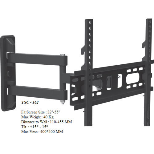Cast Iron Tsc 162 Wall Mount Led Tv Stand Lcd Size 29 43 Inches Rs 800 Piece Id 19621407655