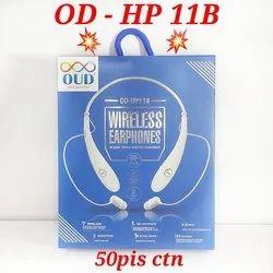OUD Mobile OD HP11B Wireless Earphone, Model Name/Number: Od-hp11b