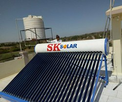 House Solar Water Heater