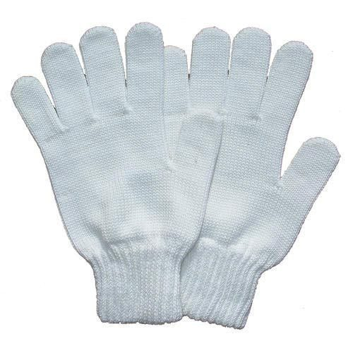 White Plain Cotton Gloves