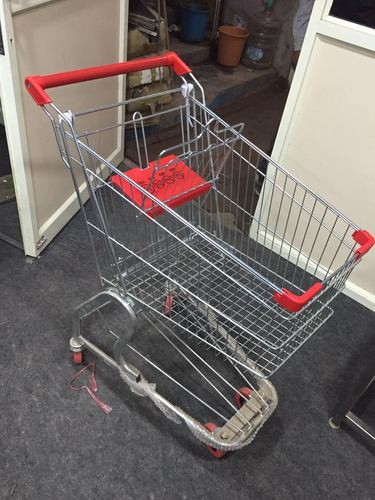 Stainless Steel Shopping Trolleys