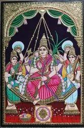 Lalithambigai Tanjore Painting 3