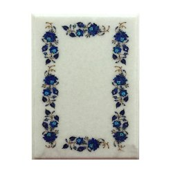 White Marble Square Coffee Tray