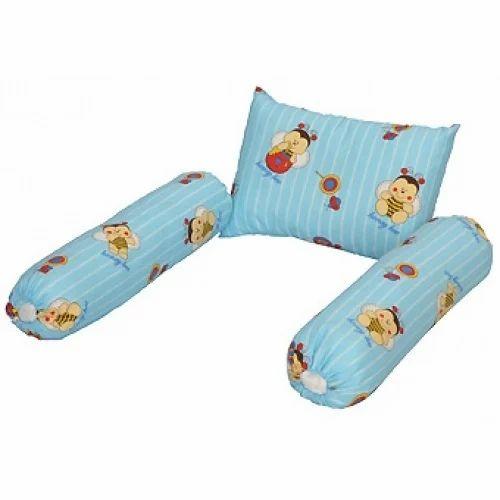 Printed Baby Bolster Pillow Set Blue Bird Id 15071071055
