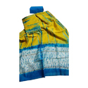 Hand-block Print Chanderi Silk Suit