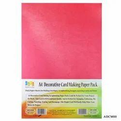 A4 Multi Colour Craft Paper Pack