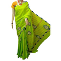 Ladies Designer Applique Saree