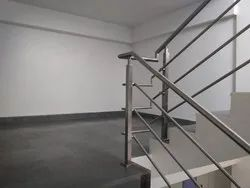 Multi-Line Stair Railing