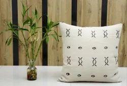 Hand Block Printed Rug Cushion Cover Mudcloth Pillow Handloom Cushion Cover