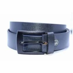 Blue Glow Leather Belt