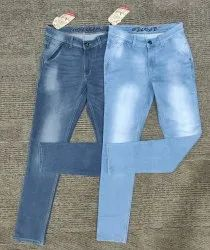 Kintted Dobby Zipper Jeans