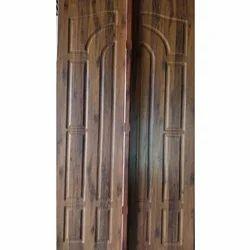 Neem Wood Polished Double Door