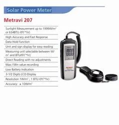 Solar Power Meter, for Laboratory