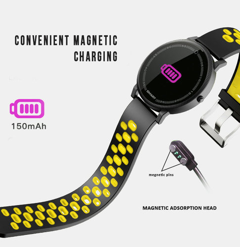 Bingo Fitness Band F4, Activity Tracker, Heart Rate Monitoring, Colorful  Display, Pedometer & More