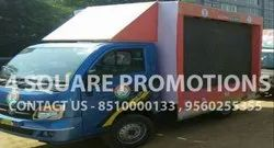 MOVING LED VAN FOR ADVERTISING, Vaccum assisted