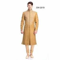 Diwan Saheb SW-2019 Embroidered Wedding Sherwani