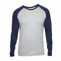 Cotton Mens Full Sleeve T Shirt