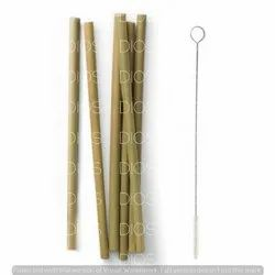 Natural Bamboo Straw Set for Daily Use