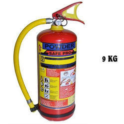 Hook Mount Thermoplastic Hose 9 Kg Safe Pro ABC Dry Powder Fire Extinguisher