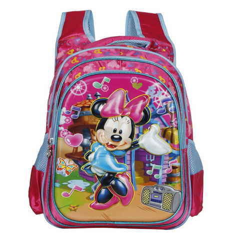 8bb9a2ce394c Disney School Bag For Girls 07 Years 3D Minnie 25 (L) Pink at Rs ...