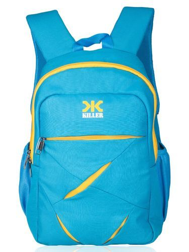 Cosmus Multi-Color Polyester Blue Lister Laptop Zipper Backpack, Dimension: 12.50 X 18.50 X 7.00 inch