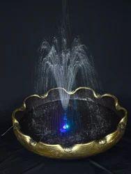 Metallic Tub - Fountain LED Lights