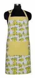Cotton Printed Apron, Size : 65 x 70 cm