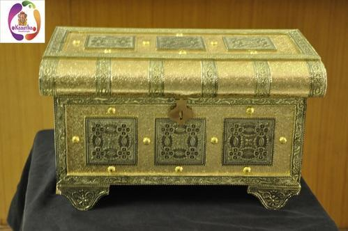Kaastha German Minakari jewellary box 13 x 5 x 6 inch