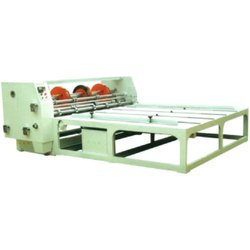 Chain Feeder Creasing Slitting Slotting Corner Cutting Machine
