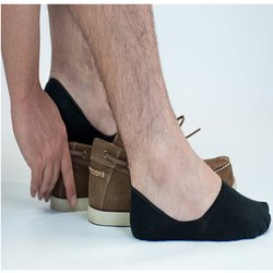 Recto Gray Loafer socks, Size: Free Size