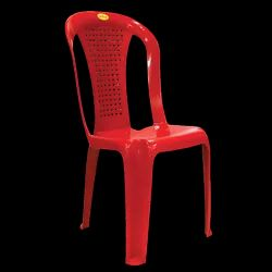 Diya Red Plastic Tent Chair, Weight: 2 Kg