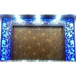 Printed PVC Wall Panel, Shape: Rectangle