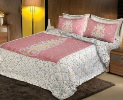 Traditional Bedsheets for Double Bed Cotton