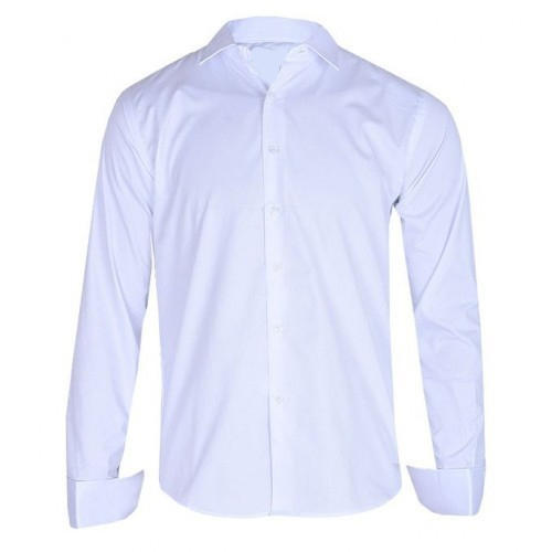 74acf745adc7 Mens Cotton Full Sleeves White Shirt, Rs 290 /piece, EQAS Garments ...