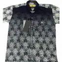 Party Wear Icfc Mens Designer Cotton Printed Shirt, Size: S-xxl