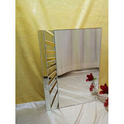 Decorative Mirror, Thickness: 5 Mm, Shape: Rectangle