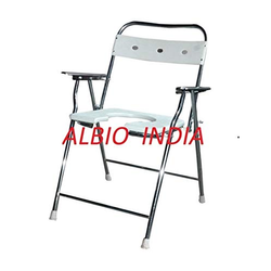 Albio Commode Chair with U-Cut Folding