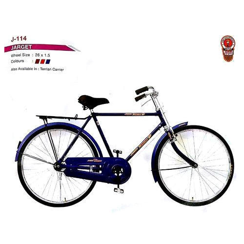 7c14f495a7f Jyoti Maroon And Red And Blue Mens Blue Standard Bicycle, Jarget, Rs ...