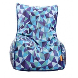 Abstract Color Printed Bean Chair