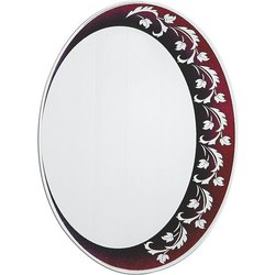 Nutan Designer Round Glass Mirror