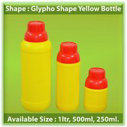 Glypho Shape Yellow Bottle