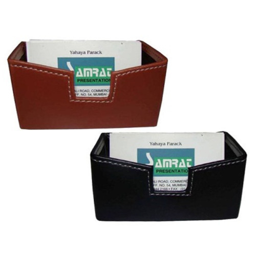 Leather Business Card Holder, for Office
