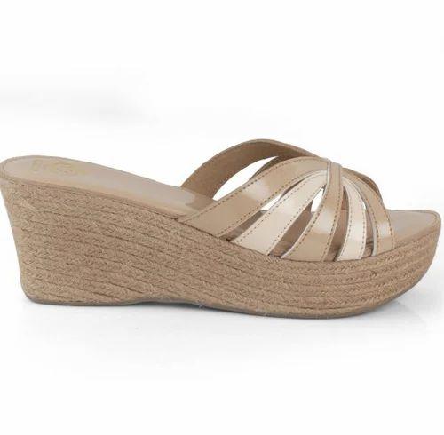 49499aa0d84 Neutral Zara S-584 Nude 3.0 Wedge Sandals