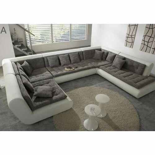 Designer U Shape Sofa at Rs 65000 /piece | Living Room ...