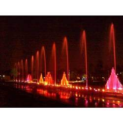 LED Dancing Light Water Fountain