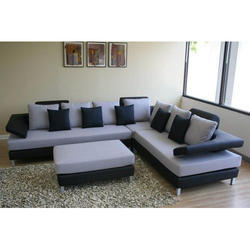Wooden Corner Sofa Set