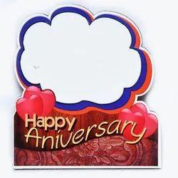 Red Happy Anniversary Photo Frame