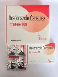 Itrazee-100 Itraconazole Capsules