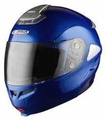 Motorcycle Helmets - Hybrid Plain Flip Off - 3 Years Warranty